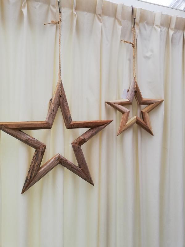 Houten ster hebbedingske